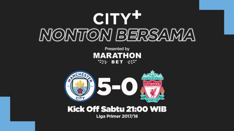 CITY+ Norton bersama versus Liverpool