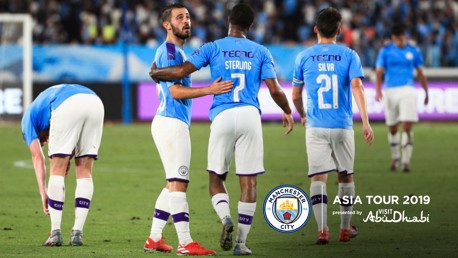 ASIA TOUR: City's preseason tour ended with a superb win