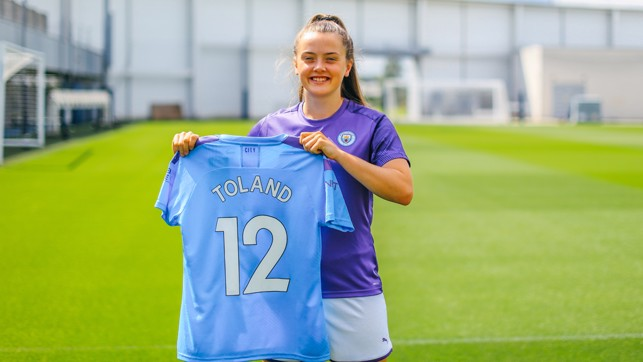 NEW BLUE : Making the move to Manchester!