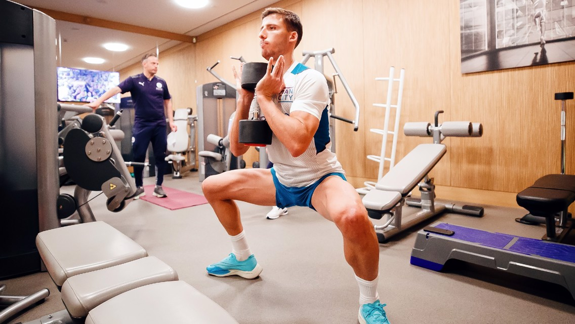 Training: Recovering in the gym