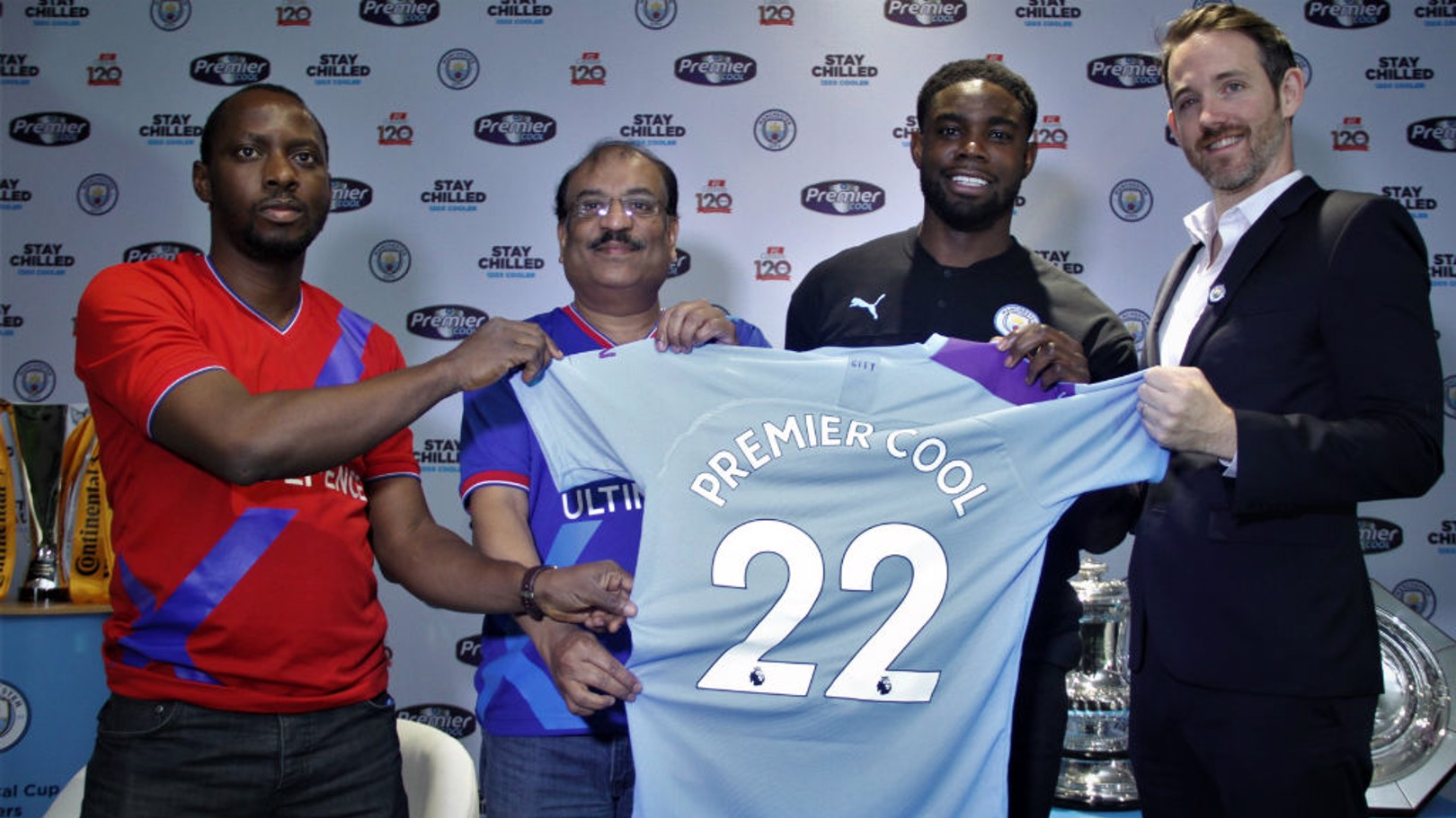 DONE DEAL: City have renewed an agreement with PZ Cussons