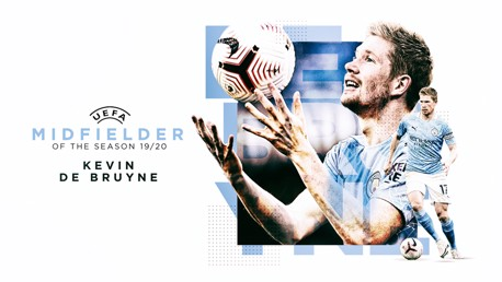 De Bruyne named UEFA Midfielder of the Season