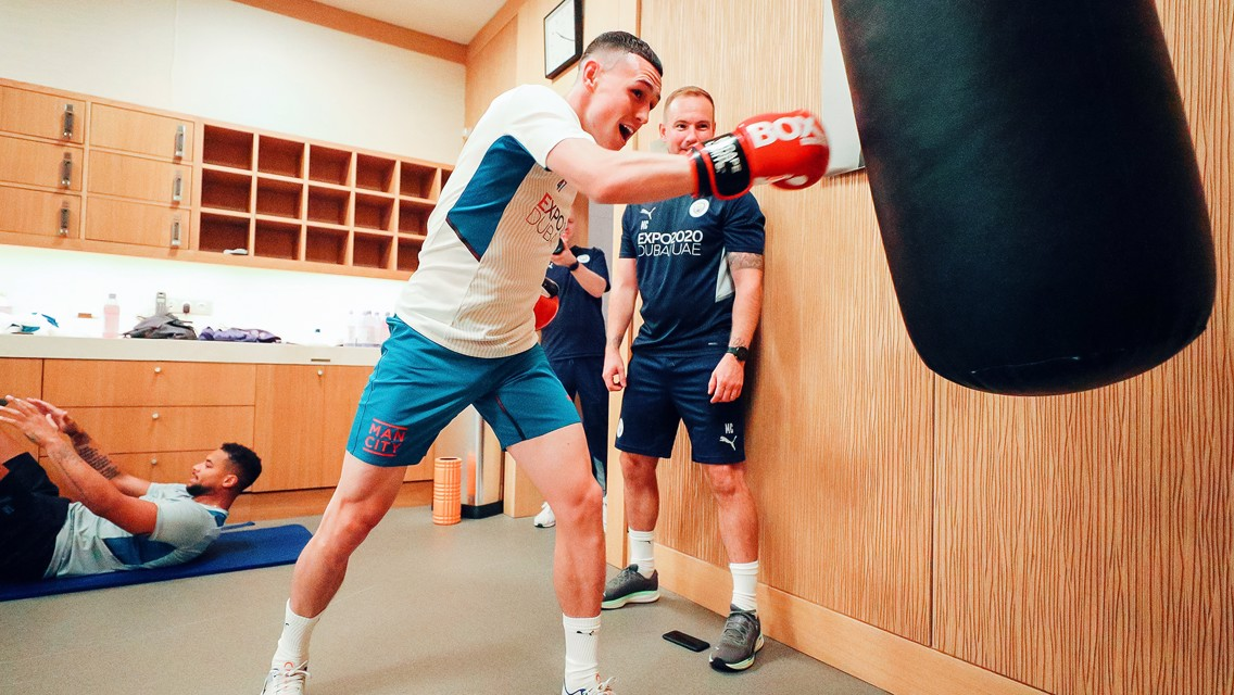 City pack a punch in post-PSG recovery session