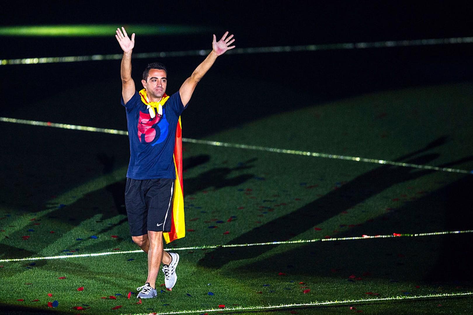 Xavi Beberkan Pengaruh Guardiola Dalam Karir Kepelatihannya