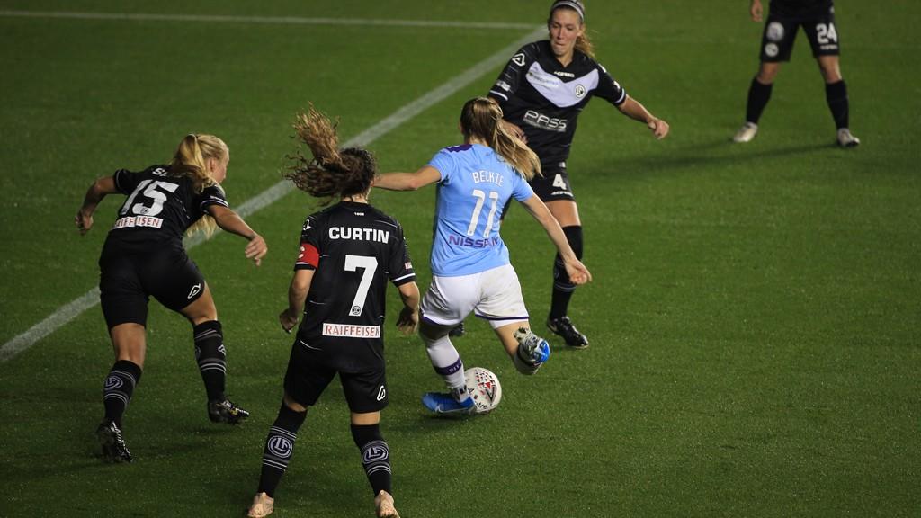 Beckie hits hat-trick as City sail through