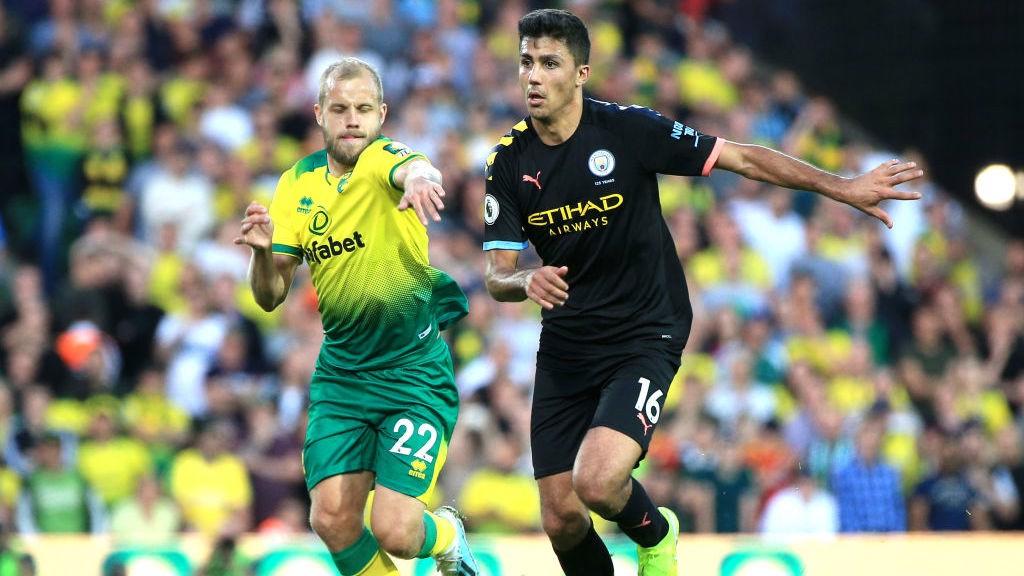 Rodrigo marcou seu primeiro gol com a camisa do City