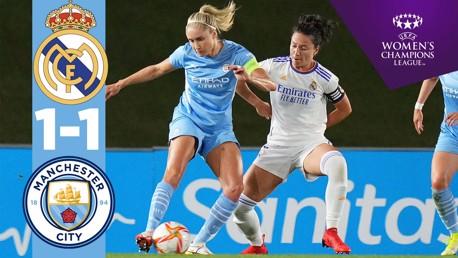 여자 챔피언스리그 H/L | 레알 마드리드 1-1 CITY