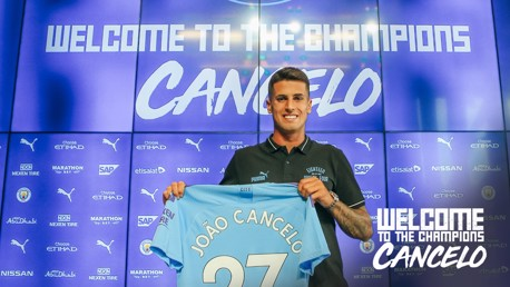 HOME: Joao Cancelo wants to settle in Manchester