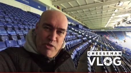 Leicester v City: Cheeseman vlog