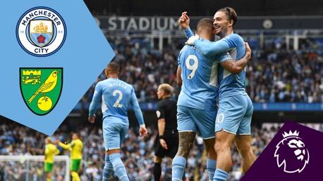 City 5-0 Norwich City: Full Match Replay