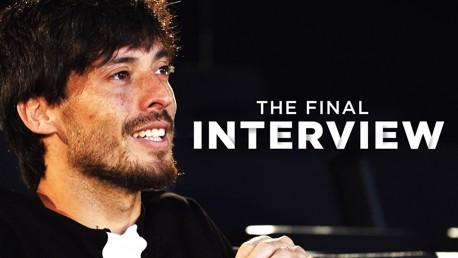 La dernière interview de Silva à City
