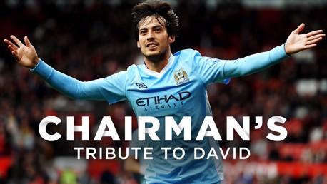 David Silva | Khaldoon Al Mubarak's tribute
