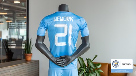 Manchester City partners with WeWork
