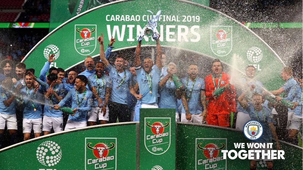 City remporte la Carabao Cup !