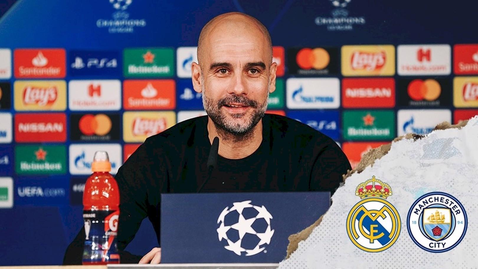 Real Madrid v Man City: Coletiva de Imprensa