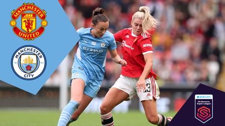 United v City: FA WSL full-match replay