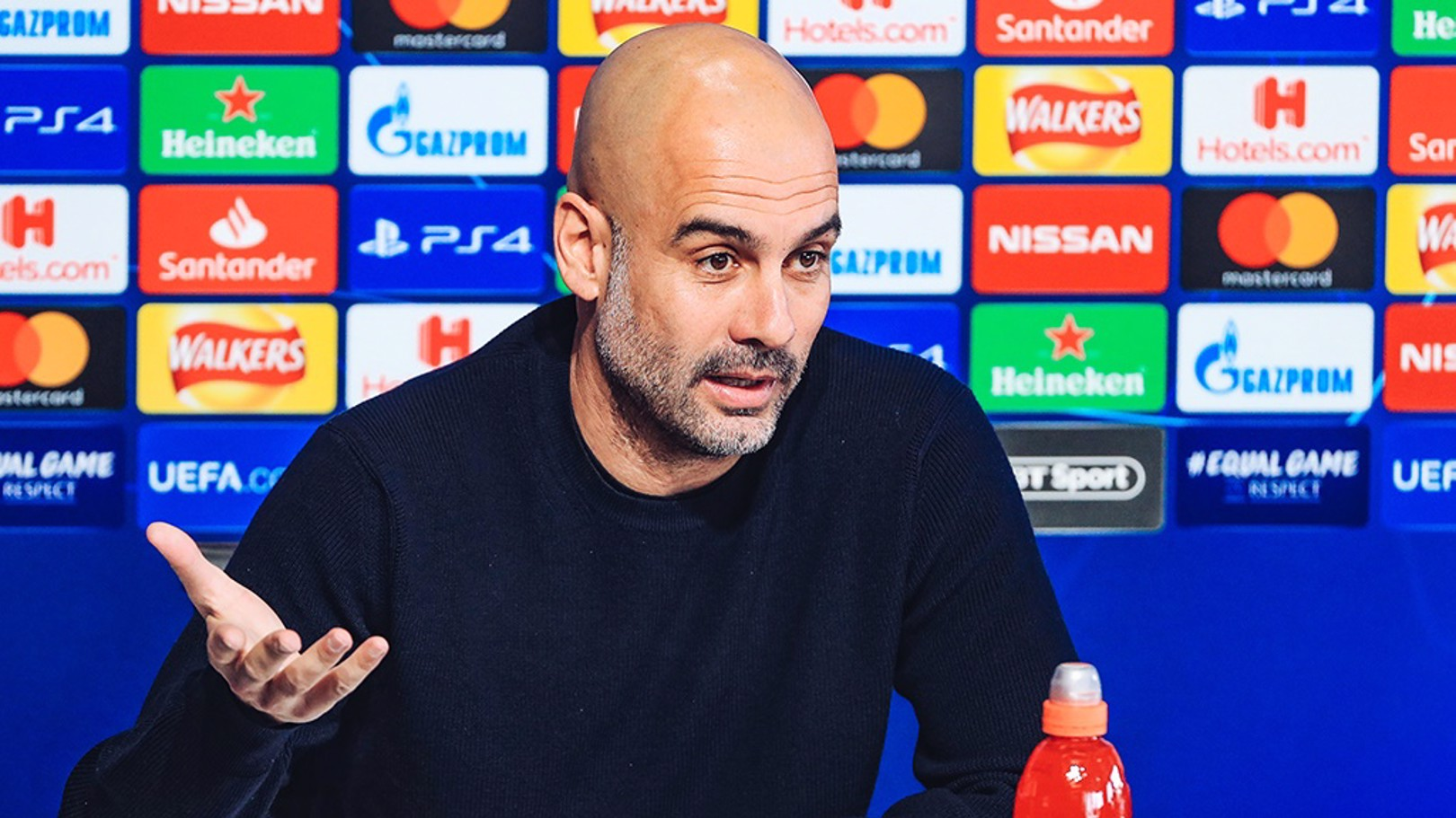PEP: Looks ahead to Schalke tesr