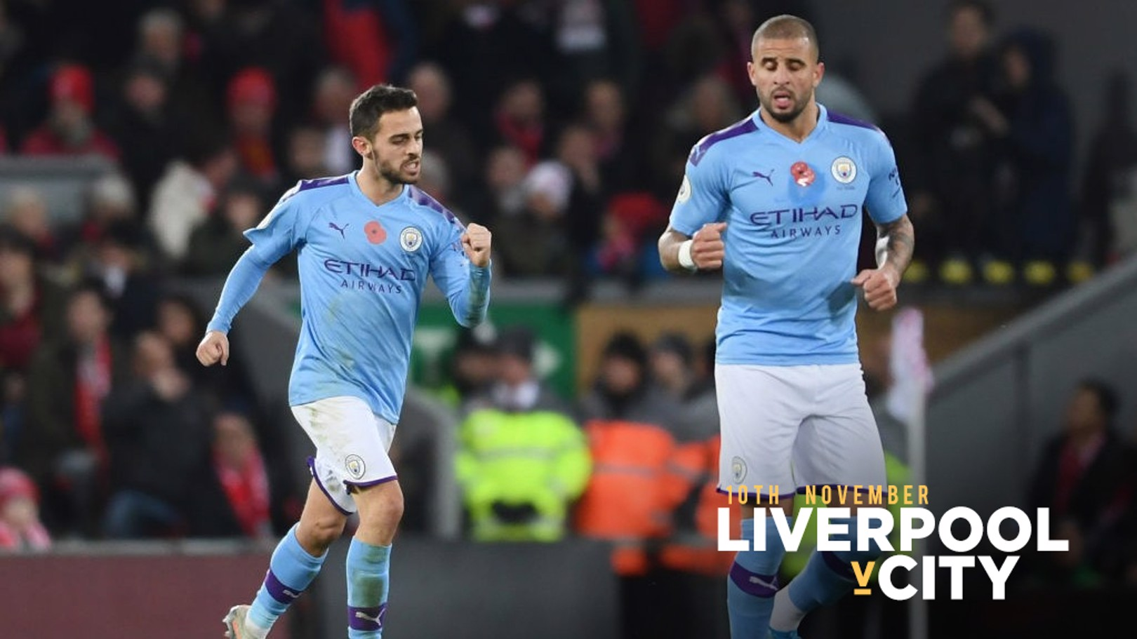 FIST PUMP: Bernardo handed City a lifeline with 12 minutes remaining.