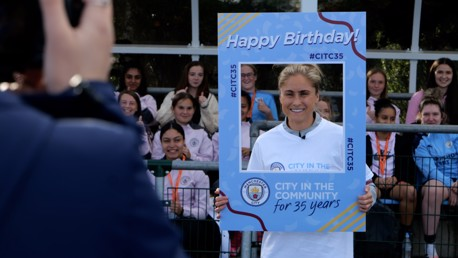 Houghton celebrates CITC birthday with BTEC students