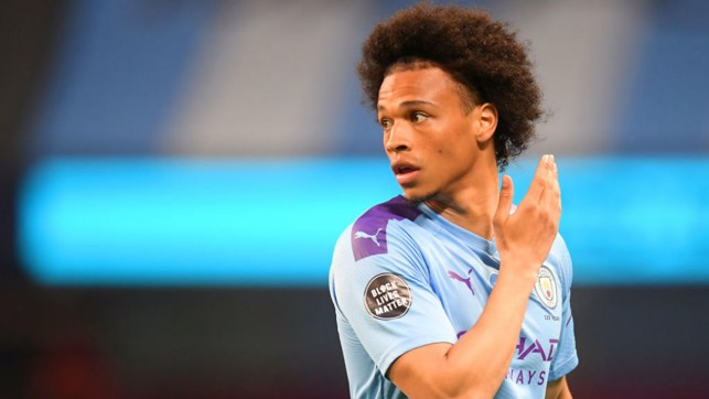 FAREWELL: Leroy's final City appearance was as a substitute against Burnley last month