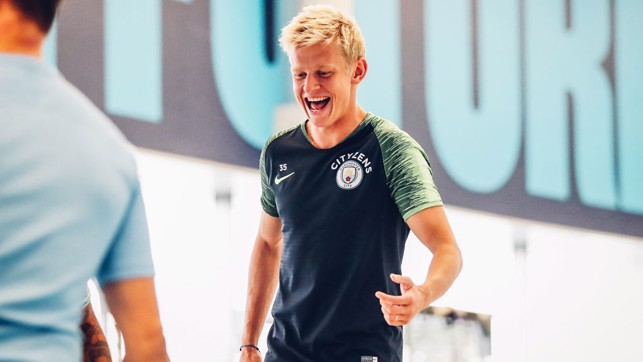 OLEKS : Always got a smile on his face!