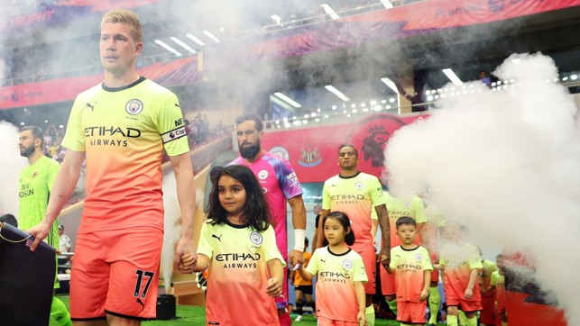 BRIGHT START : City donned their new third kit