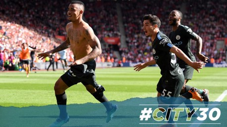 #CITY30 | 승점 100점 고지에 올려놓은 제주스의 극적인 골