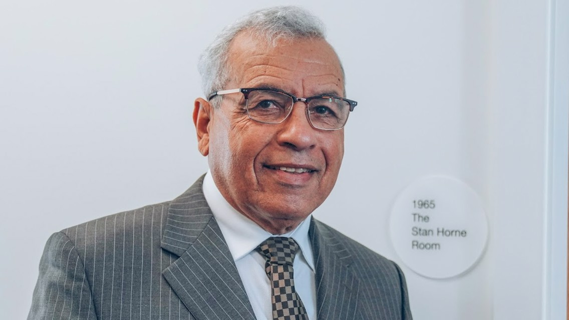 City pioneer Stan Horne's pride as Academy Classroom is named in his honour