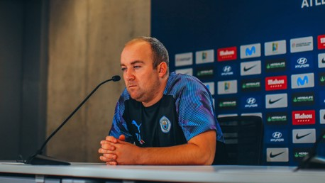 PRESS CONFERENCE: Nick Cushing addresses the media
