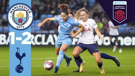 FA WSL 하이라이트 | CITY 1-2 토트넘
