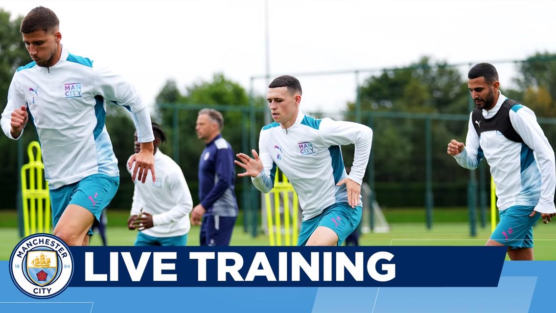 UEFA Champions League: entrenamiento en directo
