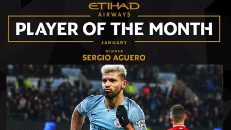 Sergio Aguero: Etihad Player of the Month Q&A