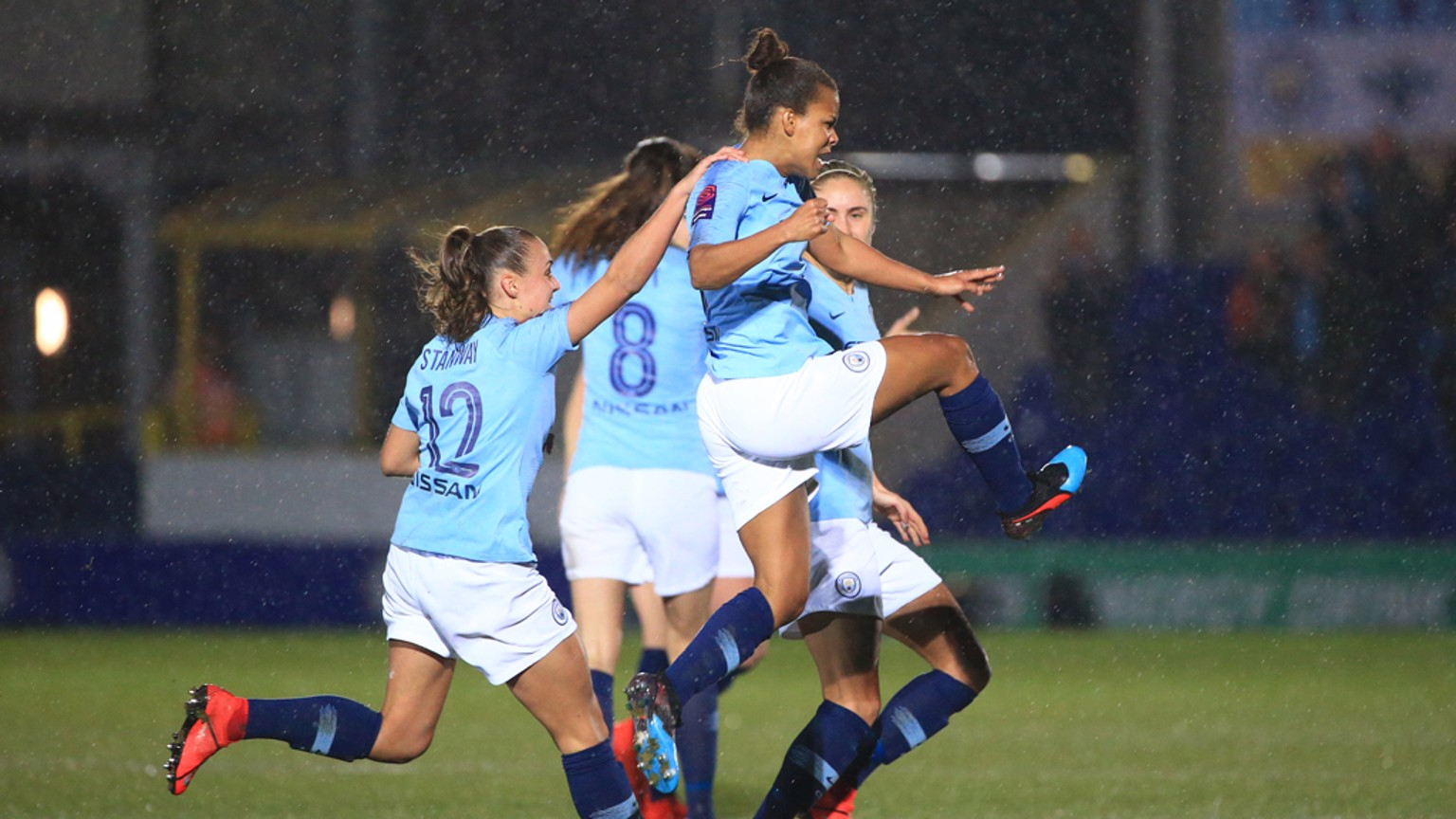 ON FIRE: Nikita Parris has scored eight times in six games