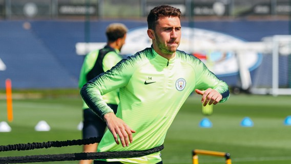 FINAL STRETCH: A focused Aymeric Laporte