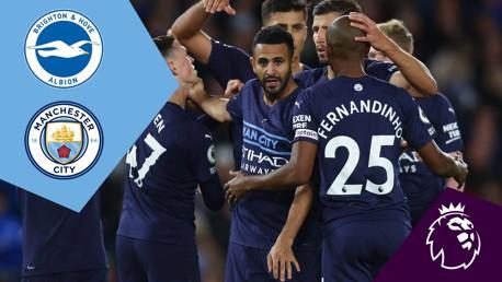 Brighton v City: Full-match replay