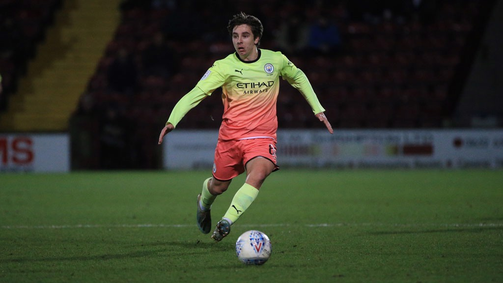 MIDDLE MAN : Midfielder Adrian Bernabe in action for City at the Sands Venue Stadium