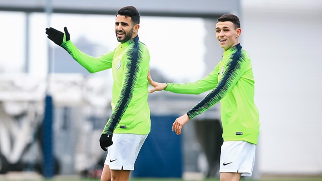 I'M WITH HIM : Riyad and Phil demand the ball
