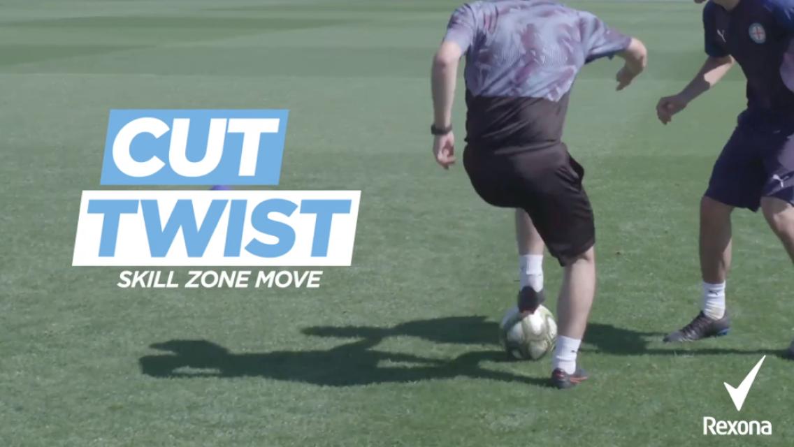 1v1 game 4: The cut twist