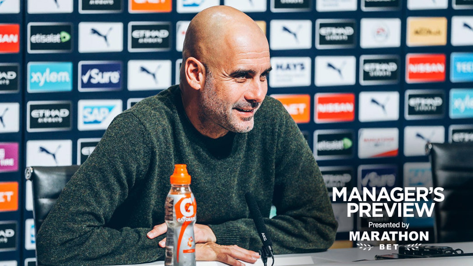 PREVIEW: Pep Guardiola speaks to journalists ahead of City's game against Arsenal.