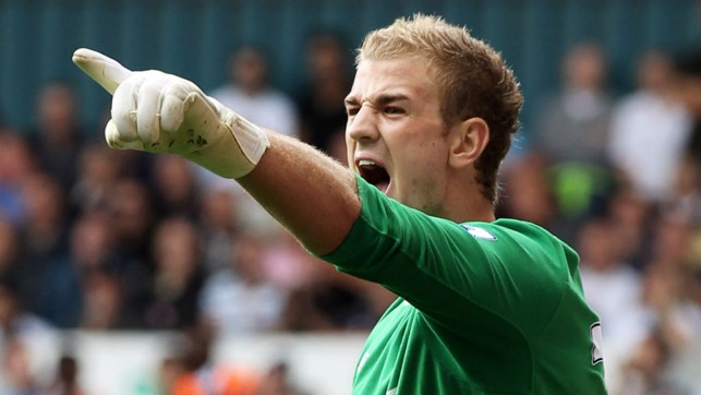 RETURN : Back from Birmingham, Hart was named MOTM vs Tottenham after a superb display at White Hart Lane.