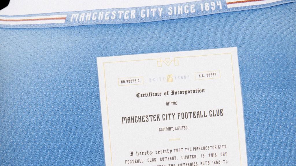 City comemora 125 anos com lançamento de uniforme