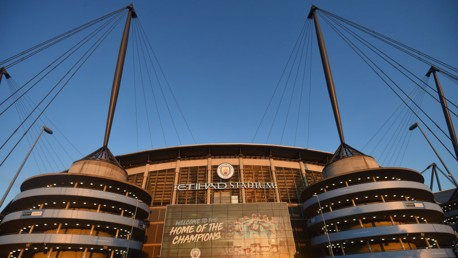 HOME: The Etihad Stadium