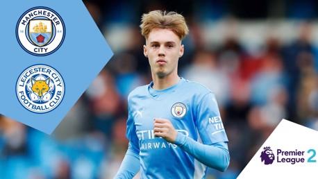 City EDS v Leicester U-23s: Full-match replay