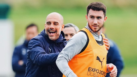 Training: Laporte stunner and penalty practice