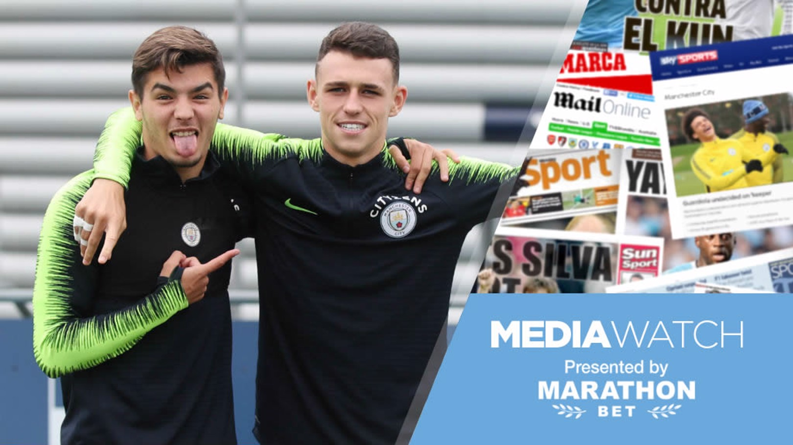 STAR QUALITY: Brahim Diaz and Phil Foden