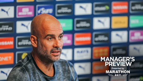 PREVIEW: Pep Guardiola addresses the media ahead of the weekend's game against Watford.