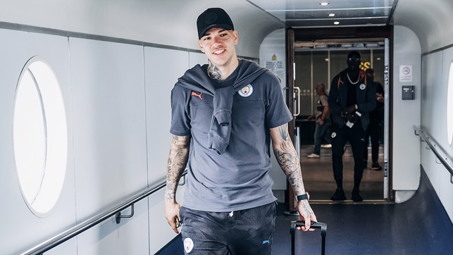 Ederson heading the right way