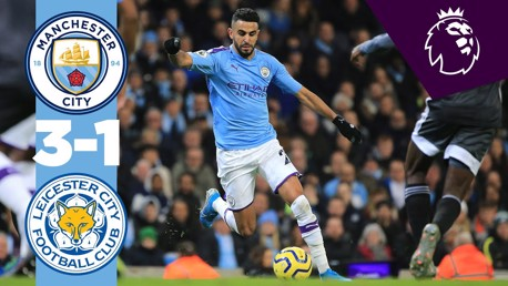 City v Leicester Premier League Full match replay