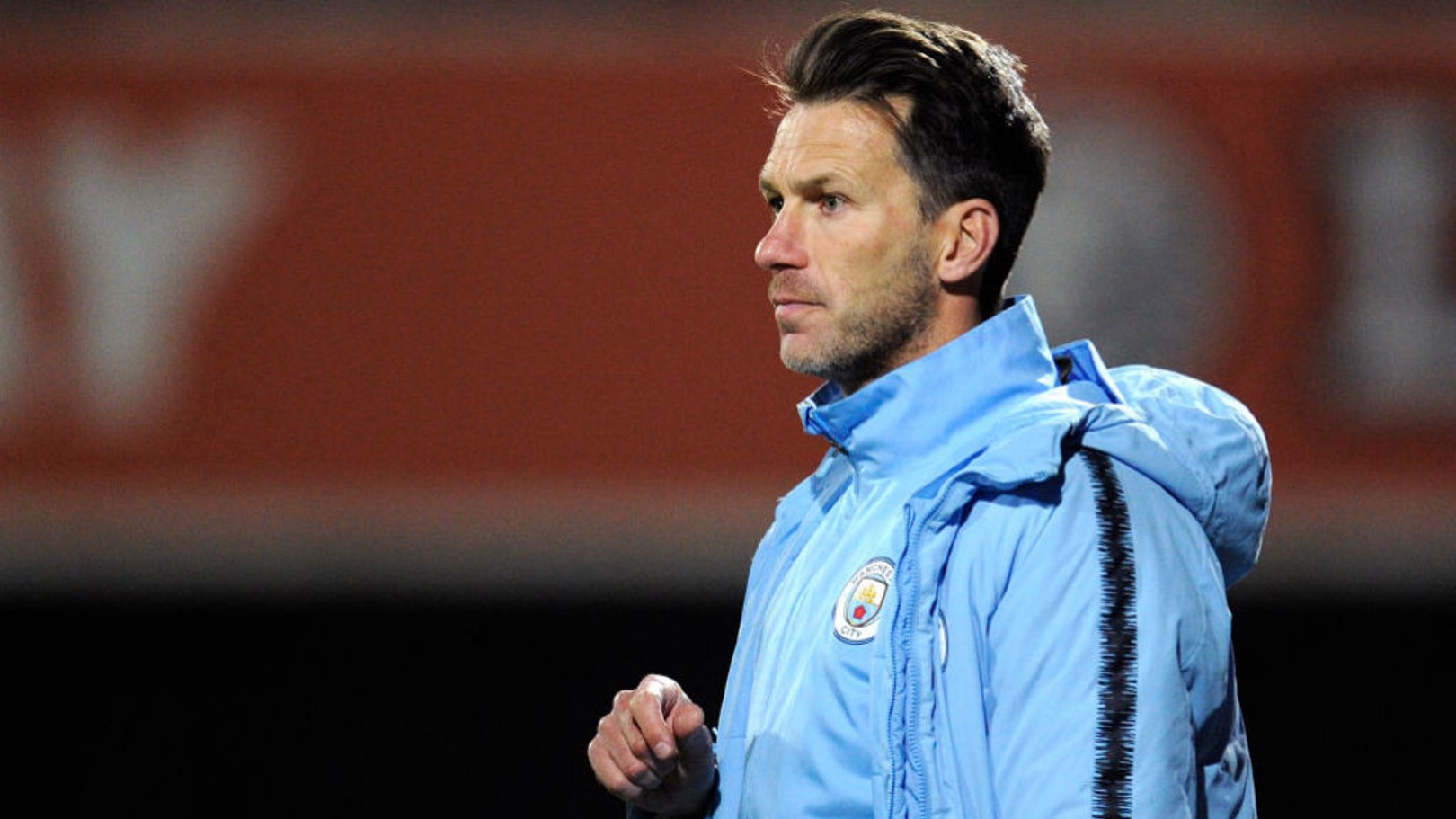 DRIVING FORCE: Under-18s manager Gareth Taylor