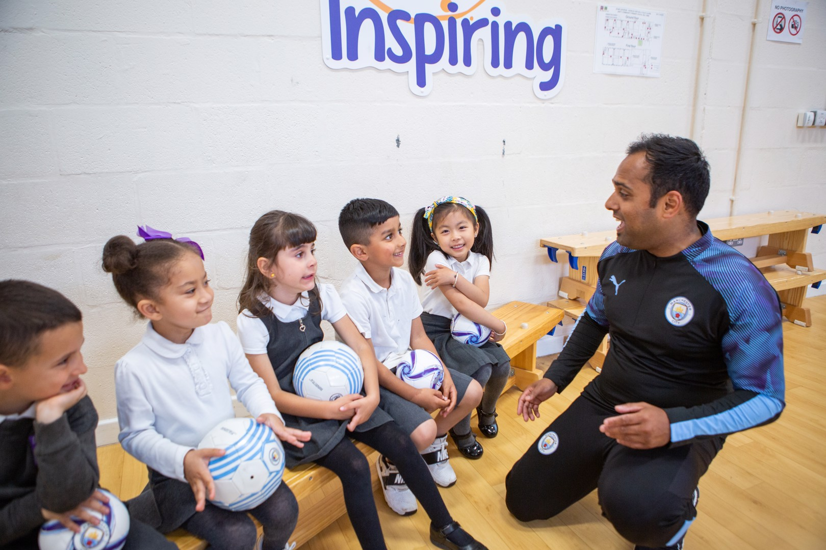 CITC's City Play Program on Match of the Day!